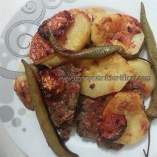 Kıymalı Patates Tava Yemeği