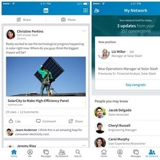 Linkedin Mobil Uygulamalarının Tasarımı Değişti!