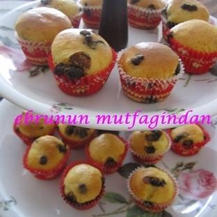 Mini Çikolatalı Cupcake