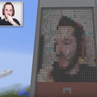 Minecraft'ta Gerçekten Çalışan Bir Telefon Yaptıla