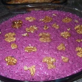 Mor Lahana Salatası Yoğurtlu