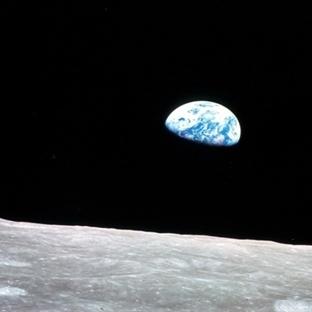 NASA, Ay'dan Dünya'nın Görüntüsünü Yayınladı