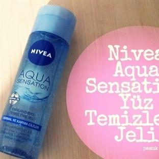 Nivea Aqua Sensation Yüz Temizleme Jeli