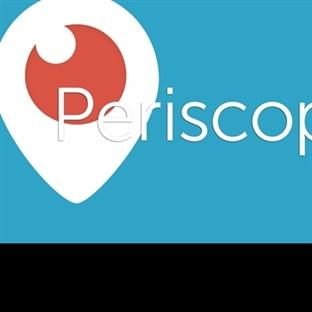 Periscope Uygulamasını En Çok Kullanan 3. Ülkeyiz