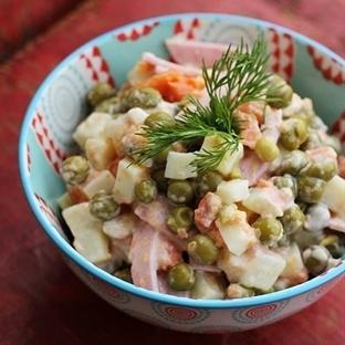 Şarküteri Salatası