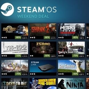 """Steam """" Keşif İndirimleri """" En Çok Satın Alınan 10"""