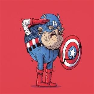 Süper Kahramanlar Yaşlandıklarında Nasıl Olurlardı