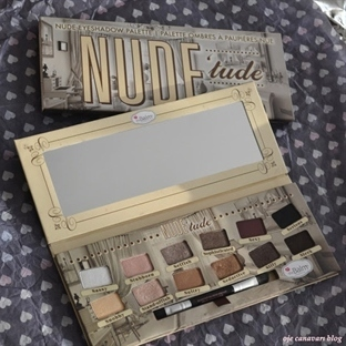 The Balm Nude Tude Volume 1 Eyeshadow Palette