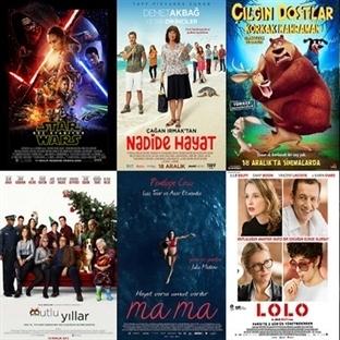 Vizyona Giren Filmler : 18 Aralık
