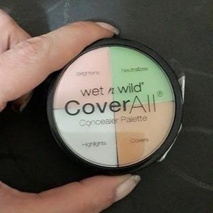 Wet n Wild CoverAll Concealer Palette (Kapatıcı Pa