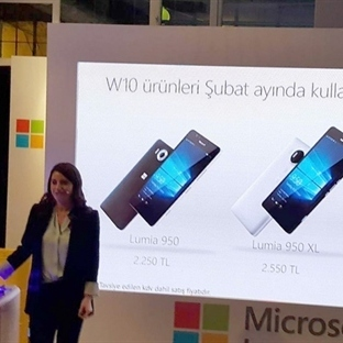 Yeni Lumia'nın Fiyatları Belli Oldu