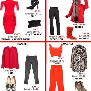 Yeni Yılda Kırmızı Modası
