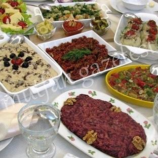 Yılbaşı Akşam Yemeği Davet Sofrası Önerimiz