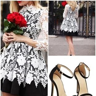 Yılbaşı İçin Elbise Seçimi;Dantel Elbise Modelleri