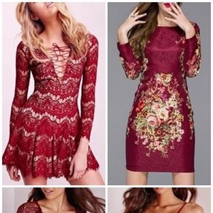 Yılbaşı Elbiselerinizi Seçtiniz mi? Kırmızı!