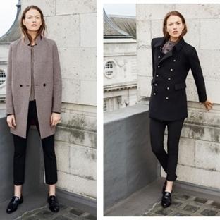 Zara 2016 Kış Palto Modelleri