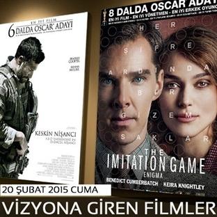 20 Şubat 2015 Cuma Vizyona Giren Filmler