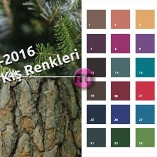 2015-2016 Sonbahar Kış Trend Renkler Neler?