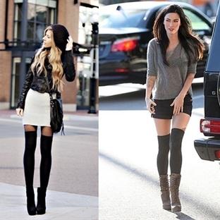 2015 Modası Uzun Çorap Modelleri