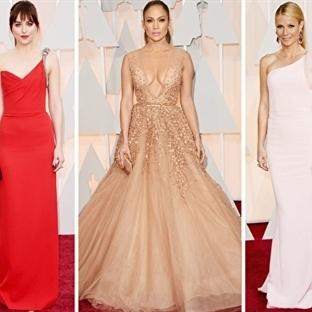 2015 Oscar Kırmızı Halı Kıyafetleri