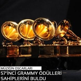 57'inci Grammy Ödülleri sahiplerini buldu