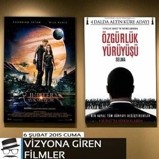 6 Şubat 2015 Cuma Vizyona Giren Filmler