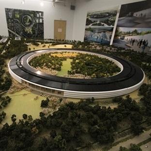 Apple Kampüs 2 Yükselmeye Devam Ediyor