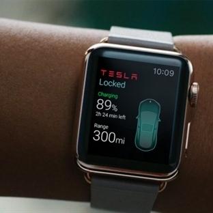 Apple Watch ile Arabanızı Kontrol Edebileceksiniz