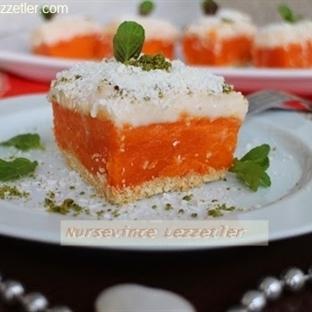 Bal Kabağı Tatlısı Bisküvili Pudingli Pasta