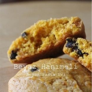 Balkabaklı ve çikolatalı kurabiye