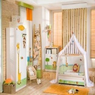 Bebek odasına dekoratif alternatifler