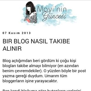 Bir Blog Nasıl Takibe Alınır