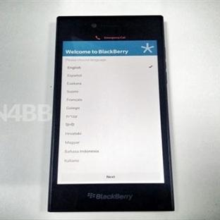 BlackBerry Rio Görselleri Sızdırıldı