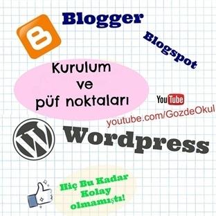 Blogger (Blogspot) – Ücretsiz blog ve kulanim
