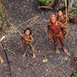 Brezilya'da insanlıktan habersiz yaşayan bir kabil