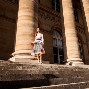 Çekimler modanın kalbi Paris'te yapıldı