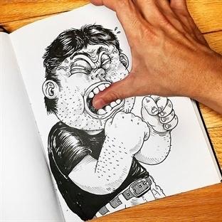 Çizdiği Karakterle Kavga Eden Sanatçının 18 Acayip