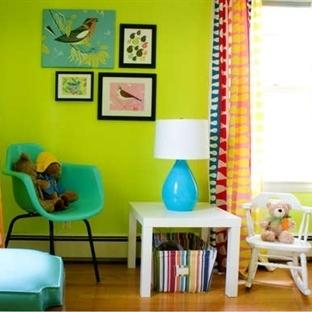 Çocuk Odaları için Uygun 7 Duvar Boya Rengi
