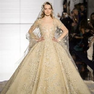 Couture Gelinliklerde Bahar trendleri