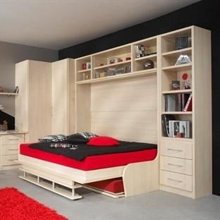 Dar Mekanlar İçin Katlanabilir Yatak Tasarımları