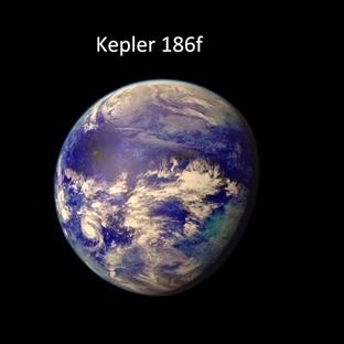 """Dünya Benzeri Gezegen """"Kepler-186f"""""""