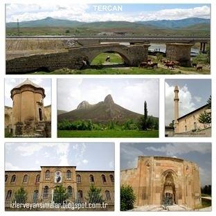 Erzincan'ın tarihi ilçesi Tercan