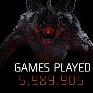 Evolve'in ilk hafta istatistikleri!