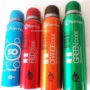 Flormar ~ Bay & Bayan Deodorantları