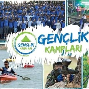 Gençler, Ücretsiz Doğa ve Deniz Kampında Buluşuyor