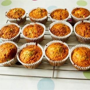 Glutensiz Zeytinli Kekikli Muffin Kek ~ GultenFree