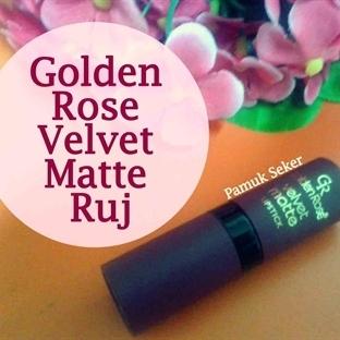 Golden Rose Velvet Matte Ruj 02