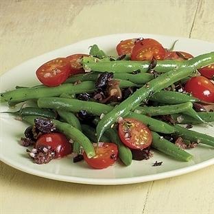 Hardal Soslu Taze Fasulye Salatası Tarifi