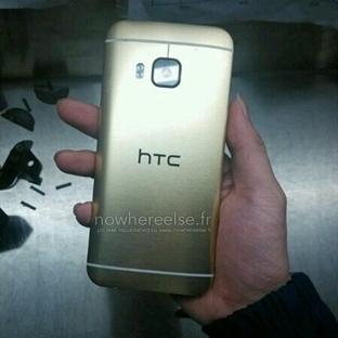 HTC One M9'un Altın Renkli Modeli Sızdı!