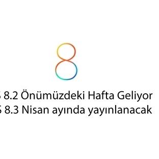 iOS 8.2 Güncellemesi Önümüzdeki Hafta Geliyor
